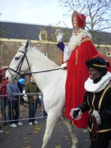 Sinterklaas Day in Amsterdam